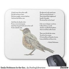 Shop Emily Dickinson In the Garden Poem Mouse Pad created by DuelingLibrarians. Garden Poems, Positive Energy Quotes, Poems Beautiful, Emily Dickinson, Custom Mouse Pads, Marketing Materials, Librarians, Positivity, Thoughts