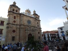 Old Church in Cartagena Colombia #Church #Colombia #Cartagena #travel