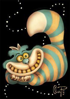 Cheshire Cat. Alice In Wonderland.: