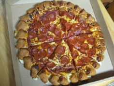 Pizza Hut Cheese Pizza | Review: Pizza Hut - Cheesy Bites Pizza | Brand Eating