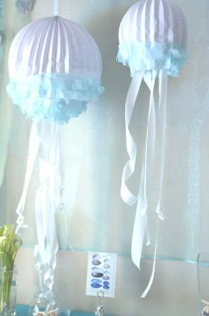 jelly fish baby shower decorations