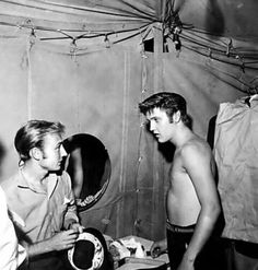 Elvis and Nick Adams