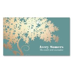 Tree of Life Health and Wellness Teal Business Card Templates. This great business card design is available for customization. All text style, colors, sizes can be modified to fit your needs. Just click the image to learn more!