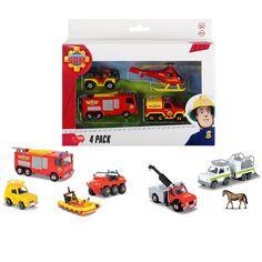 Brandweerman Sam Voertuigenset, 4st. online kopen | Thimble Toys