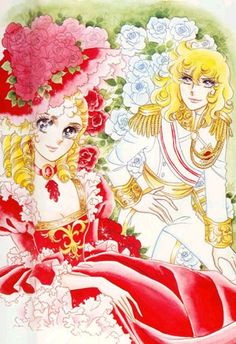 The Rose of Versailles ( Oscar François and Marie Antoinette) | If you need a good cry read and/or watch this