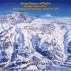 Campo Imperatore Ski - weather, opening, piste map