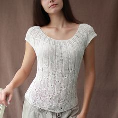 Ravelry: Aubrey Top pattern by April Miller