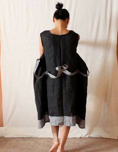custom  reversible cocoon dress plus size by annyschooecoclothing