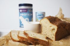 Bread for the strict phase of the hCG diet – protein bread recipe - Keto Diet Plan Protein Bread, Protein Diets, High Protein Low Carb, Low Carb Diet, Hcg Recipes, Bread Recipes, Traditional Cakes, Hcg Diet, Homemade Ice