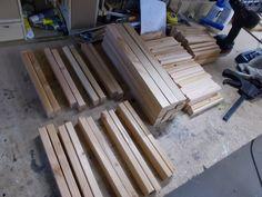 Blumenkübel - Bauanleitung zum Selberbauen - 1-2-do.com - Deine Heimwerker Community Texture, Crafts, Plants, Tutorials, Projects, Timber Wood, Surface Finish, Manualidades, Handmade Crafts