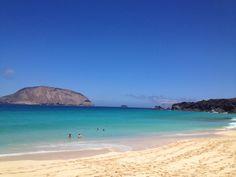 Playa de las Conchas, La Graciosa, Islas Cansrias