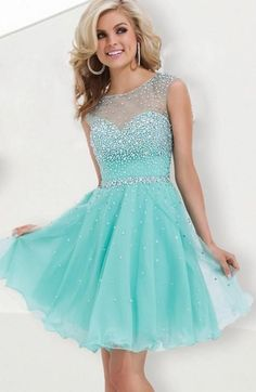 Find More Prom Dresses Information about 2016 Fall Under 60$ Cheap A Line Mini Sexy Beaded Crystal Red Mint Green Short Prom Dresses Homecoming Dress,High Quality dress jumpsuit,China dress l Suppliers, Cheap dresses allure from party  Queen Fashion Store on Aliexpress.com