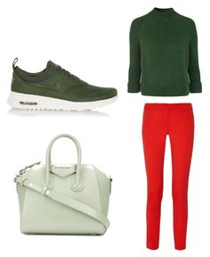 Untitled #32 by vladislava234 on Polyvore featuring polyvore fashion style Topshop Michael Kors NIKE Givenchy clothing