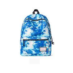 Blue Paint Fashion Travel Bag Back To School