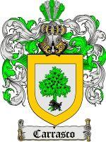 Carrasco Family Crest / Carrasco Coat of Arms
