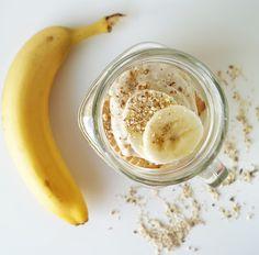 Banana dessert, Dessert mit Bananen, deser bananowy Peanut Butter, Sugar, Cooking, Food, Banana Dessert, Kitchen, Eten, Meals, Nut Butter