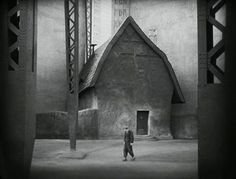 Rotwang's house from Fritz Lang's Metropolis.