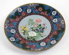 A Japanese Cloisonne Metal Charger. Lot 152-3007