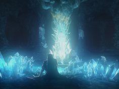 Vincent Valentine in Lucrecia's Cave