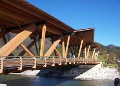 Wooden Bridge // Kossen, Austria