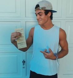 Ethan got a ticket and the police officer asked for an autograph