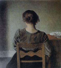 Vilhelm Hammershøi - resting