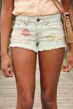 DYI x FLORAL x Shorts