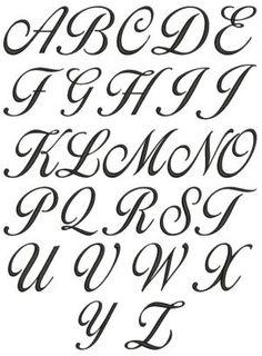 Cursive Alphabet A To Z A z cursive lettering for Alphabet A, Cursive Fonts Alphabet, Tattoo Fonts Cursive, Hand Lettering Fonts, Calligraphy Handwriting, Calligraphy Alphabet, Lettering Tattoo, Fancy Handwriting, Letters In Cursive