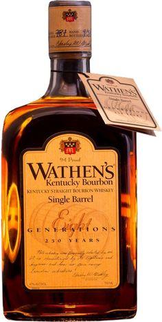 Wathen's Single Barrel Kentucky Straight Bourbon Whiskey | @Caskers