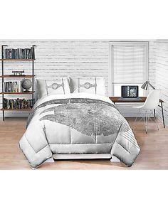 Star Wars Death Star Comforter - Full/Queen - Spencer's