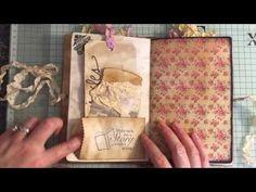 Vintage style journal #junkjournals #junkjournaljunkies - YouTube