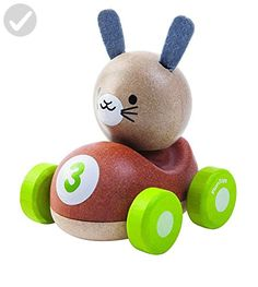 Plan Toys Bunny Racer - Toys for little kids (*Amazon Partner-Link)