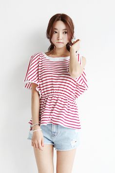 Lovin' stripes so much!
