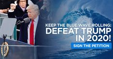 The last two years have inspired unprecedented activism as the nation comes together to fight Donald Trump's extreme agenda and hateful rhetoric. Commit to defeating Donald Trump in Are you in? Political Equality, Politics, Vote Trump, Images Google, Donald Trump, Waves, Blue, Google Search, News