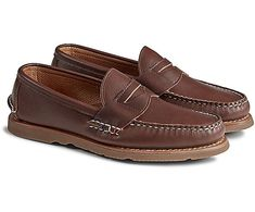 Brown Loafers, Penny Loafers, Loafers Men, Mens Blue Dress Shoes, The Woman In Black, Gold Cup, Navy And Brown, Black Leather Shoes, Toddler Shoes