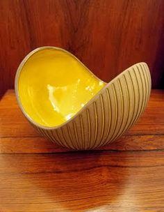 """""""Kokos"""" ( coconut ) Designed byHjördis Oldfors for Upsala-Ekeby , Sweden 50′s"""