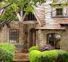 Stone House was built in 1990 and was designed in the cottage style of the Normandy region of France. The cottage comprises over one hundred imported reclaimed materials and architectural details.