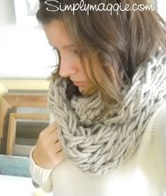 Arm Knitting – How To | simplymaggie.com