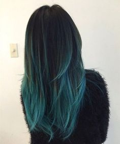 Here are 50+ #awesome #blue #omber #hair #color #ideas, from #blonde #highlights ... If you've set your mind on #ombre, you will have to go #light at the ends of your #hair...