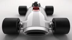 Racecar by Scott Schenone, via Behance Racing Car Design, Race Cars, Behance, Motorcycle, Product Design, F1, Vehicles, Ideas, Cars