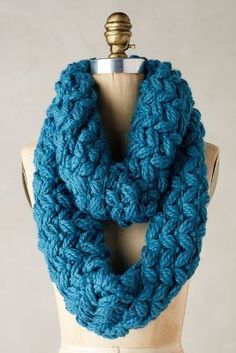 Love this color :: Cottage Infinity Scarf
