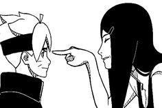 Kushina and Boruto This would've been awesome