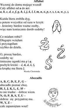 Polish Language, Infographic, Songs, Education, School, Speech Language Therapy, Therapy, Cuba, Schools