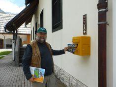 Enviant postals al Televall i a casa des de Trenta (Parc Nacional Triglav) (Eslovènia)
