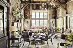 Mix and Chic: A rustic and charming vacation home in North Carolina!