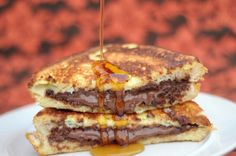 Nutella french toast. by gena