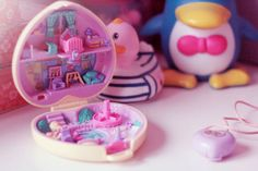 polly pocket heart
