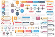 Infographic Elements. UI Elements