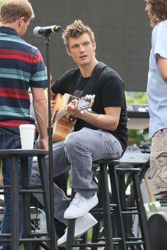 Backstreet Boys heartthrob Nick Carter was rehearsing with the band