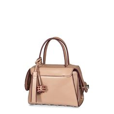 TOD'S Tod'S Twist Mini Boston Bag. #tods #bags #shoulder bags #hand bags #leather #charm #accessories #